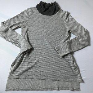 3/$25 Hem &Thread long sleeve striped turtle neck